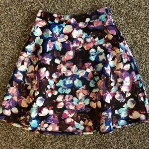 The Limited Floral Skirt